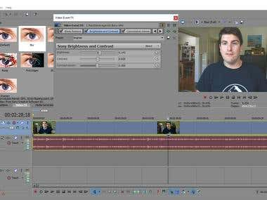 Sony Vegas - Editing video