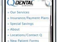 qDental Mobile Website