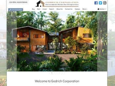 Property Goa Website