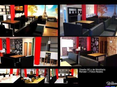 Renders y diseño de interiores