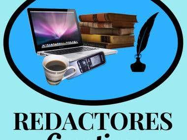 "LOGO DE ""REDACTORES CREATIVOS"" (CREATIVE WRITERS' LOGO)"