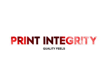 Print Integrety Logo and Bussiness Card