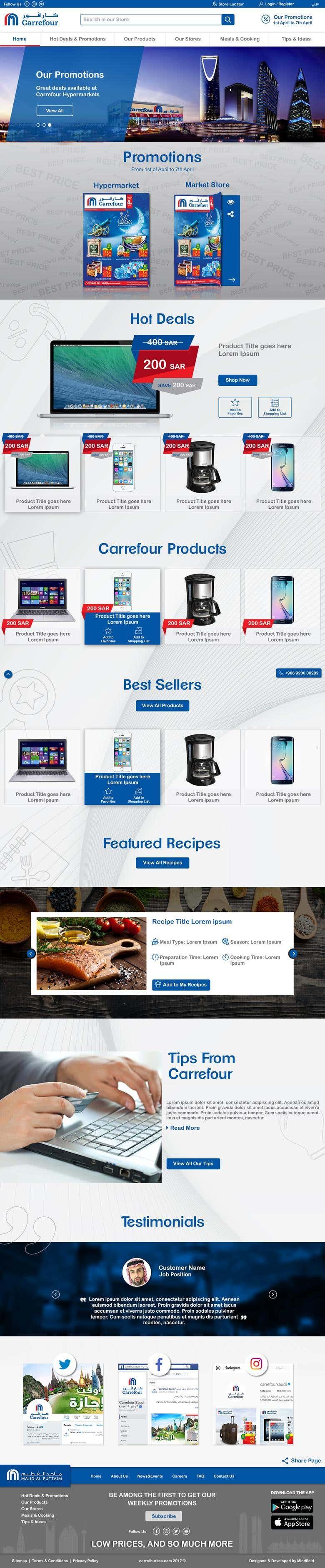 Carrefour | Freelancer