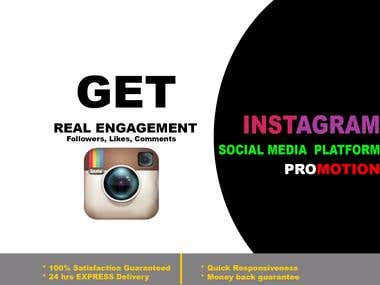 Grow your Instagram Followers | Real Engagement