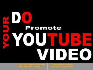 Do Viral Youtube Video Marketing Promotion