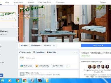 A Facebook Fan Page Managed by me