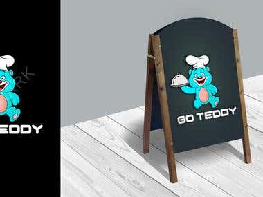Go teddy logo design ...