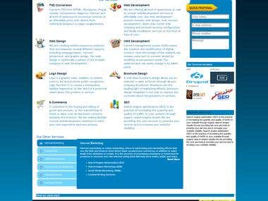 Launched new Wordpress for IT Solutions Provider.
