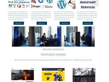 Launched new Wordpress with WooCommerce It Solution Provider