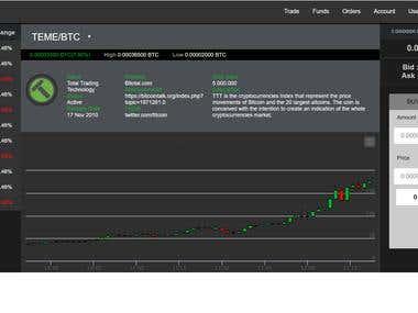 Bitcoin Web Application