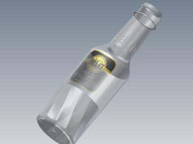 Herbal Drink Plastic Bottle