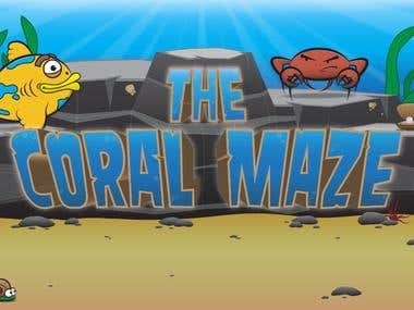 'The Coral Maze' iPhone Game