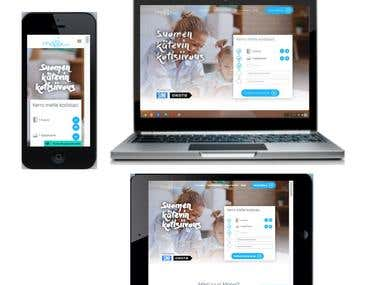 Responsive Wordpress Site