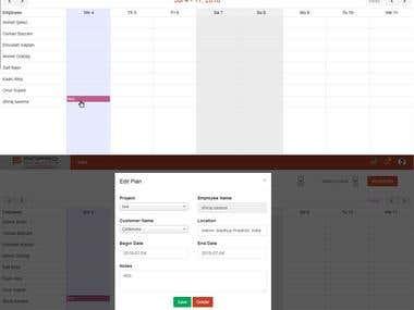 Website:- Calendar
