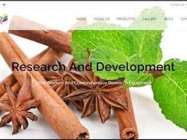 WebSite with Wordpress http://floraessentialoils.com/