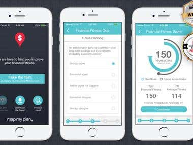 Financial Fitness Test App