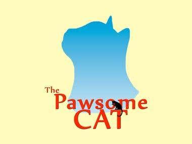The Pawsome cat