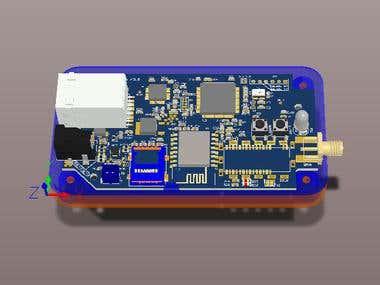 Wifi & RF product Schematic, PCB design