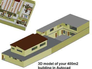 3D model of Elementary School