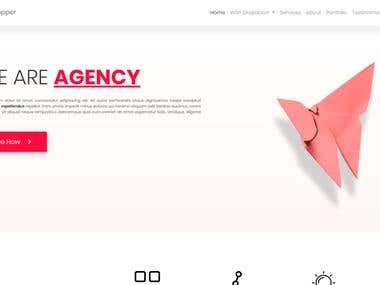 Copper - Agency Template