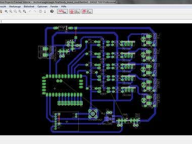 Eagle Circuit & PCB Design