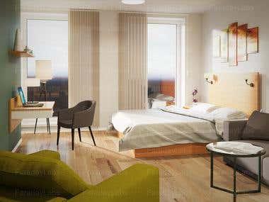 Bedrooms - Interiors