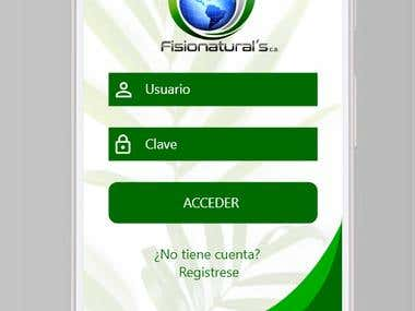 Fisionaturals Android App