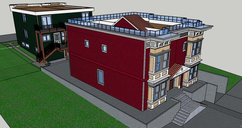 3D Modeling of Complex Exterior of Building in SketchUp | Freelancer