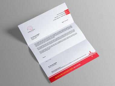 Letterhead Design with MS Word Version
