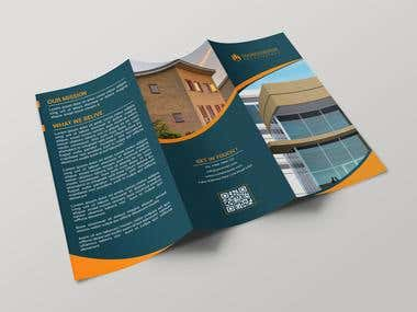 Tri Fold Brochure(Image resolution is not good.)