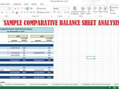 Sample Financial Accounting Report