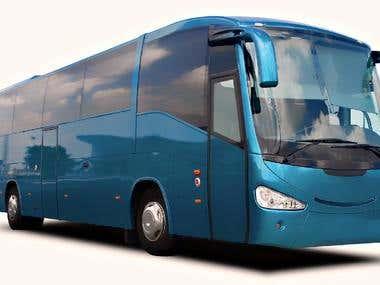Bus booking website