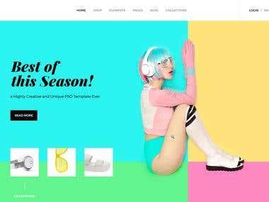 Baari - Woo-commerce Wordpress theme.