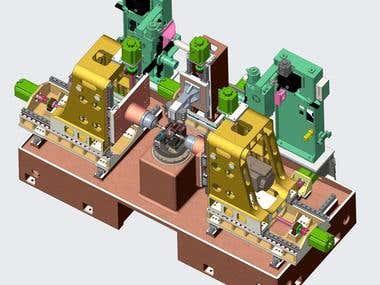 Drilling & Milling CNC Machine