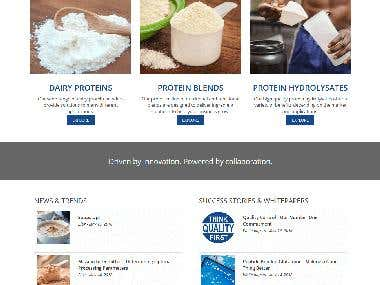 Amco Proteins WordPress Project
