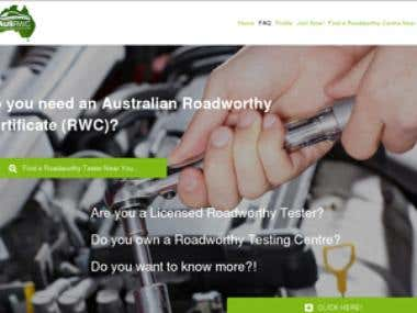 Australian Roadworthy Certification