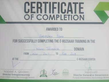 Certification of Training in the Non-Technical Domain