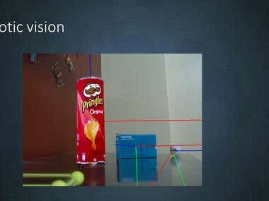 Robotic vision using OpenCV
