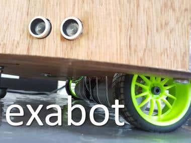 Autonomous mobile robot using ROS,Arduino & Raspberry pi