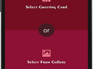 Greeting Cards Maker