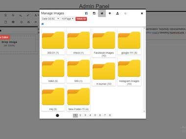 Froala Editor (File Manager Plugin)