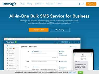 Text Magic SMS Gateway