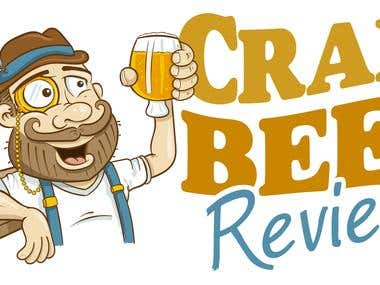 Craft Beer Reviews Logo