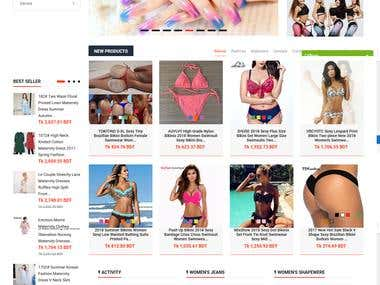 Drop Shipping store for female