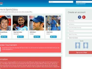 Sports Zebra web