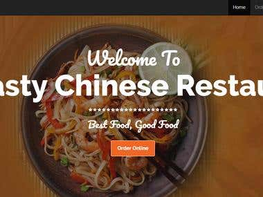 SEO On A Chinese Restaurant Website
