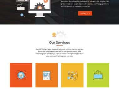 Wordpress Website for A Digital Marketing Company