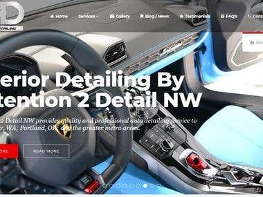 Sports Car Detail Shop