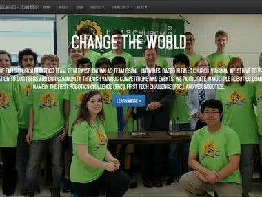 Homepage - Top