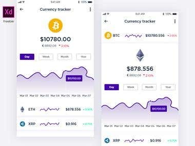 Cryptocurrency Mobile APP